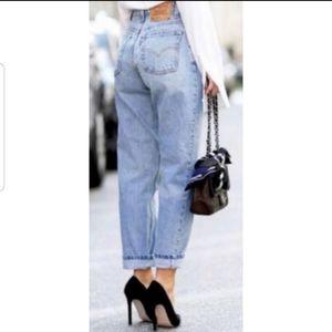 Vintage Levi's 560 High Waist 90s Grunge Jeans 31
